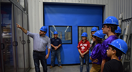 Hobart Middle School Students Tour MonoSol for Manufacturing Day