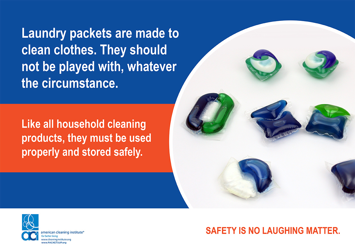 Laundry Detergent Pod Safety